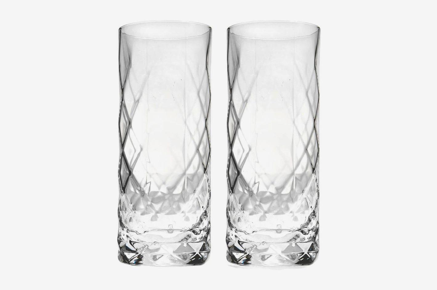 Viski by True Fabrications Set of 2 Highball Glasses