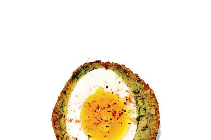 Eastwood's Israeli Scotch egg.