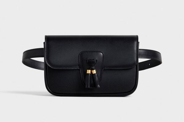 Celine Belt Bag Tassles In Shiny Calfskin
