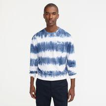 J.Crew Lightweight sunfaded french terry sweatshirt in tie-dye