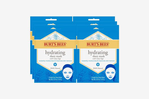 Burt's Bees Hydrating Face Mask, 6 Count