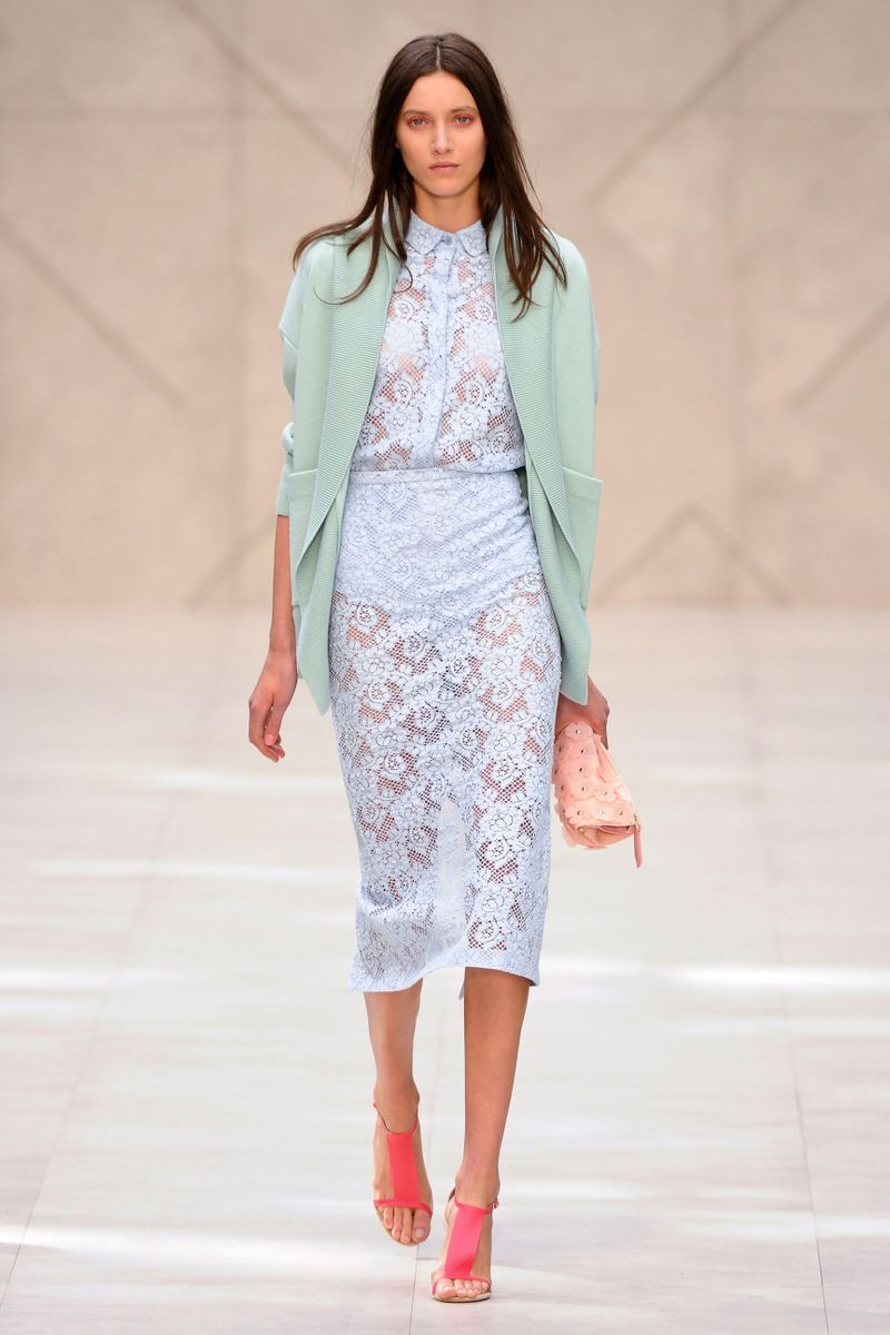 Burberry Väska 2014 : Burberry prorsum spring rtw the cut