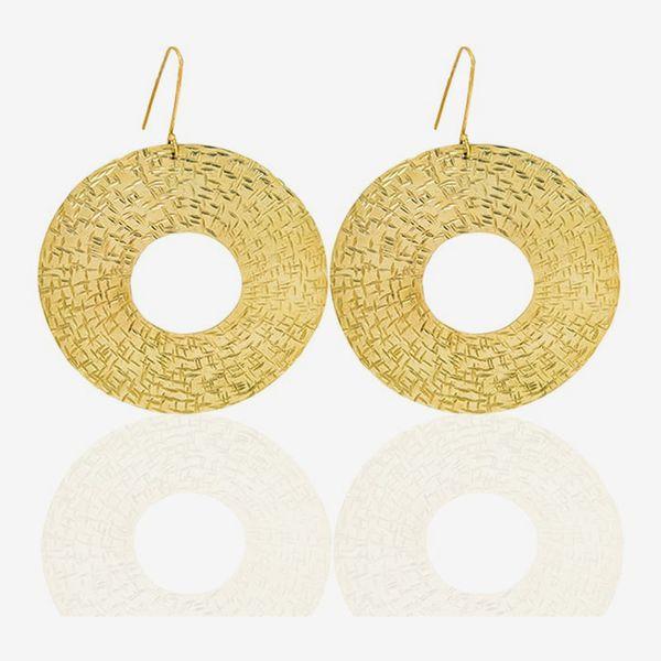 Dhamani Maya Brass Earrings