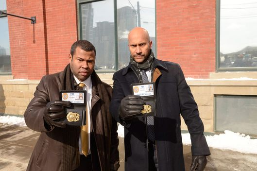 "FARGO ""Who Shaves the Barber?"" -- Episode 107 -- Airs Tuesday, May 27, 10:00 pm e/p) -- Pictured: (L-R) Jordan Peele as Agent Pepper, Keegan-Michael Key as Agent Budge -- CR: Chris Large/FX"