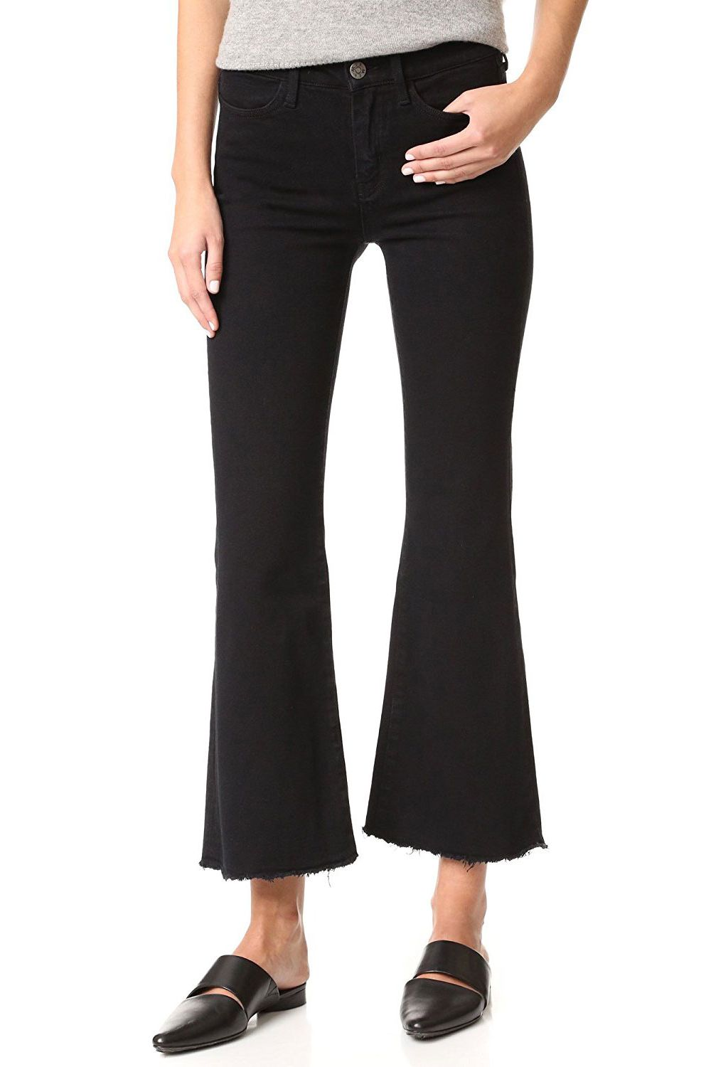 M.I.H. Women's Lou Fray Flare Jeans