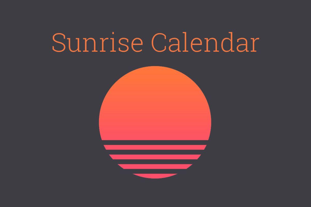 The Best Alternatives to Sunrise Calendar