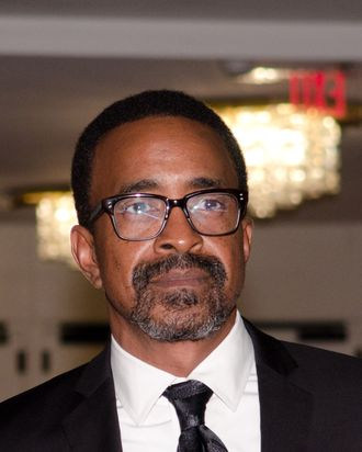 Tim Meadows poses on the red carpet during the 14th Annual Mark Twain Prize for American Humor at the John F. Kennedy Center for the Performing Arts on October 23, 2011 in Washington, DC.