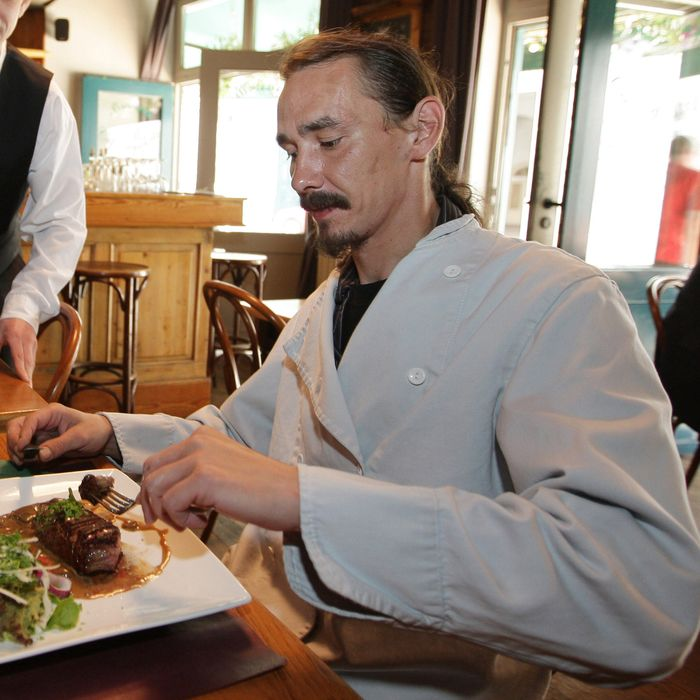 Titus Clarysse, in 2009, just after he passed the 50-restaurant mark.