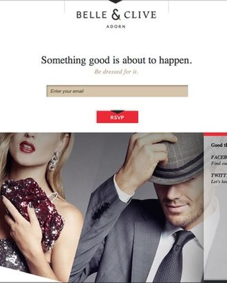 New site Belle & Clive.