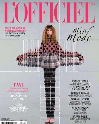 Tavi for L'Officiel Netherlands.