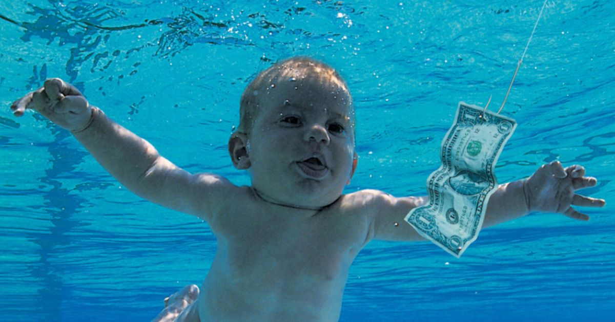 The Nirvana Baby Claims Nevermind Art Is Porn, Sues Nirvana