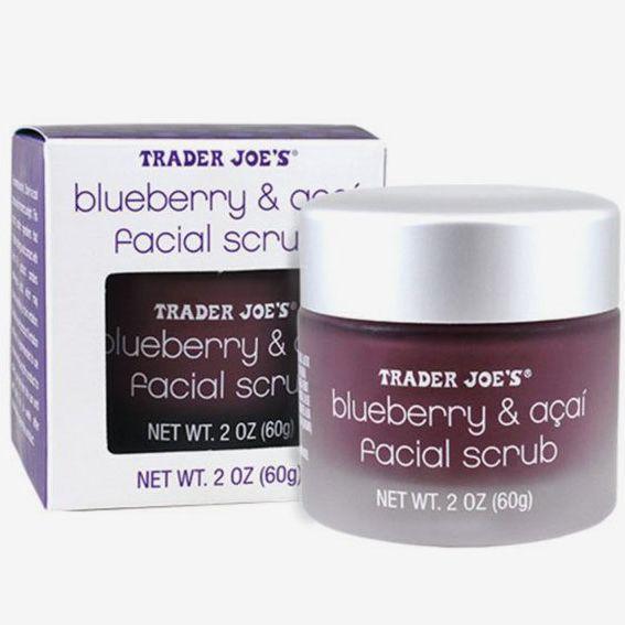 Trader Joe's Blueberry and Açai Facial Scrub