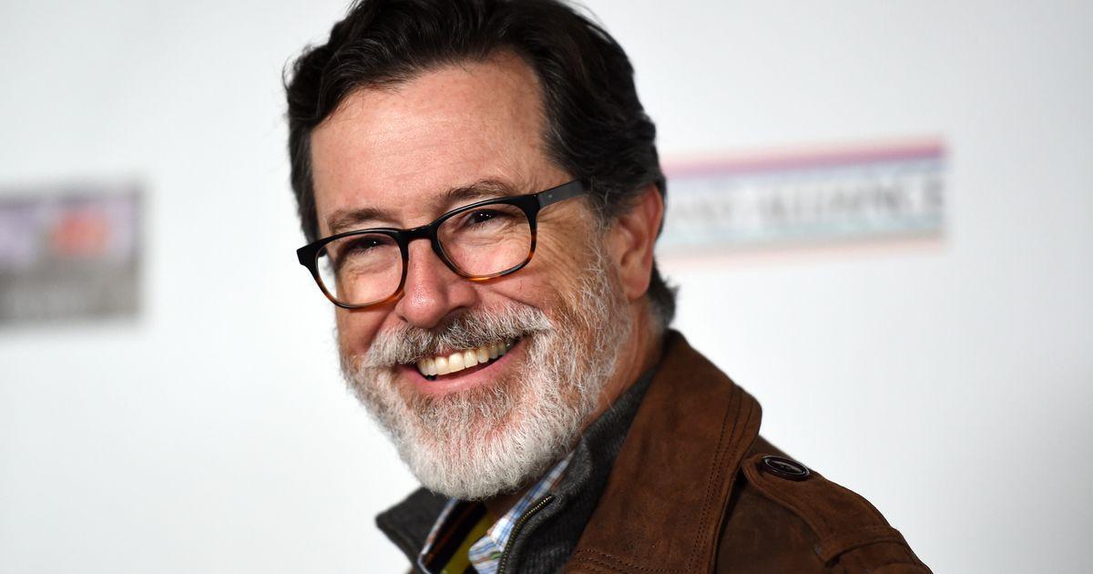 Stephen Colbert Grows a Glorious Beard and Contemplates Sex With Princess Leia in Oscar Wilde Award Speech