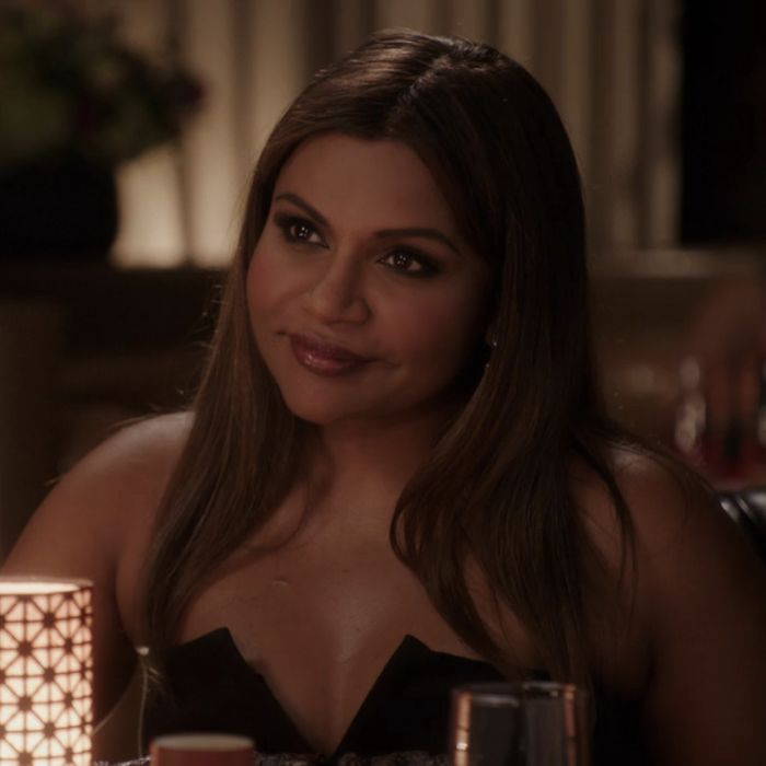 Mindy Kaling as Mindy.