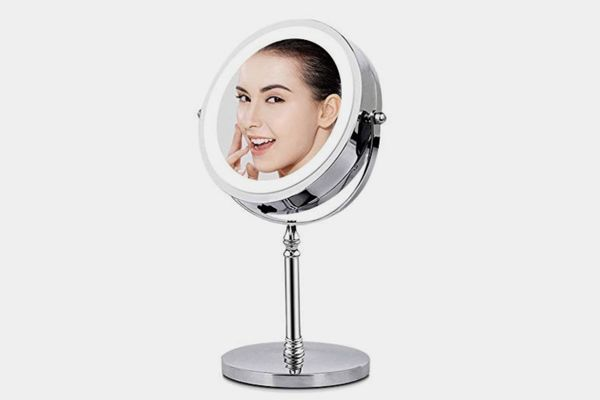 BRIGHTINWD Magnifying Mirror with Lights