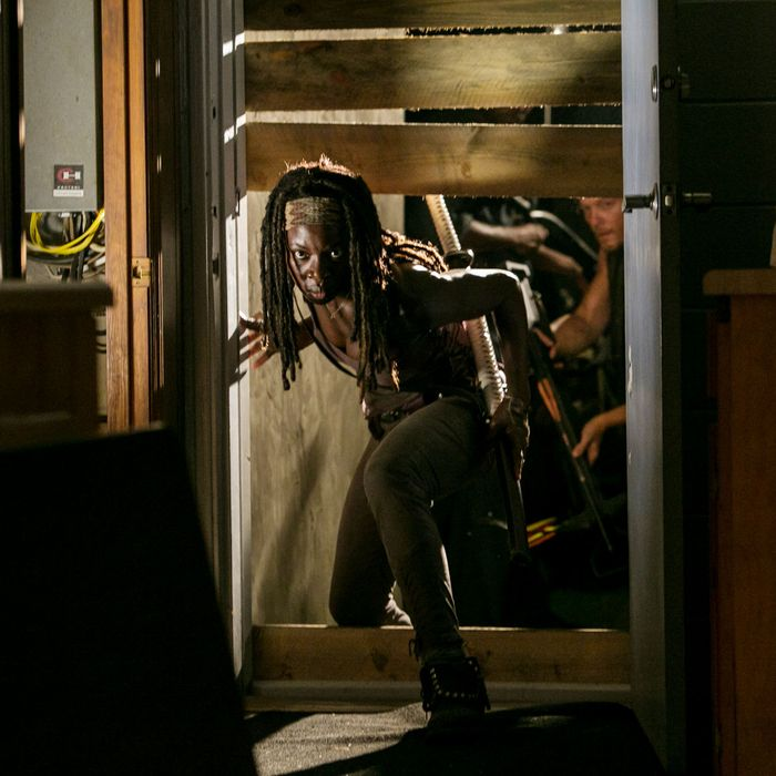 Michonne (Danai Gurira) - The Walking Dead - Season 3, Episode 8