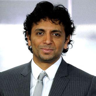 Director M. Night Shyamalan attends