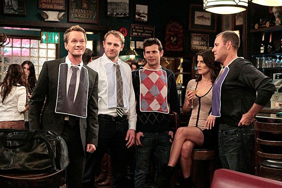 """Lobster Crawl"" -- Robin (Cobie Smulders, right) is determined to get Barney (Neil Patrick Harris, left) back no matter what it takes, on HOW I MET YOUR MOTHER, Monday, Dec. 3 (8:00-8:30 PM, ET/PT) on the CBS Television Network."