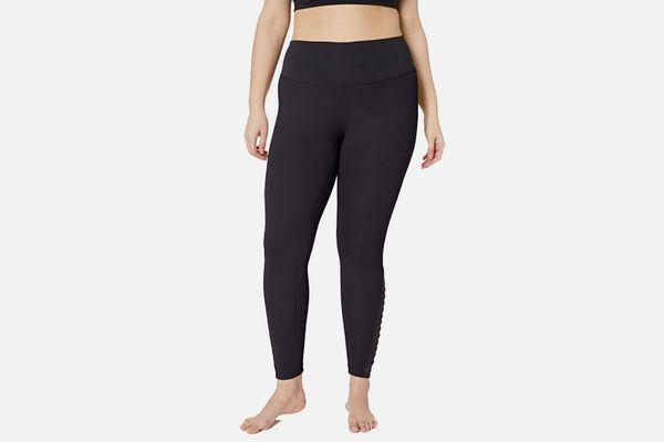 Core 10 Women's Icon Series 'Fierce Pleats' Yoga 7/8 Crop Legging - 24