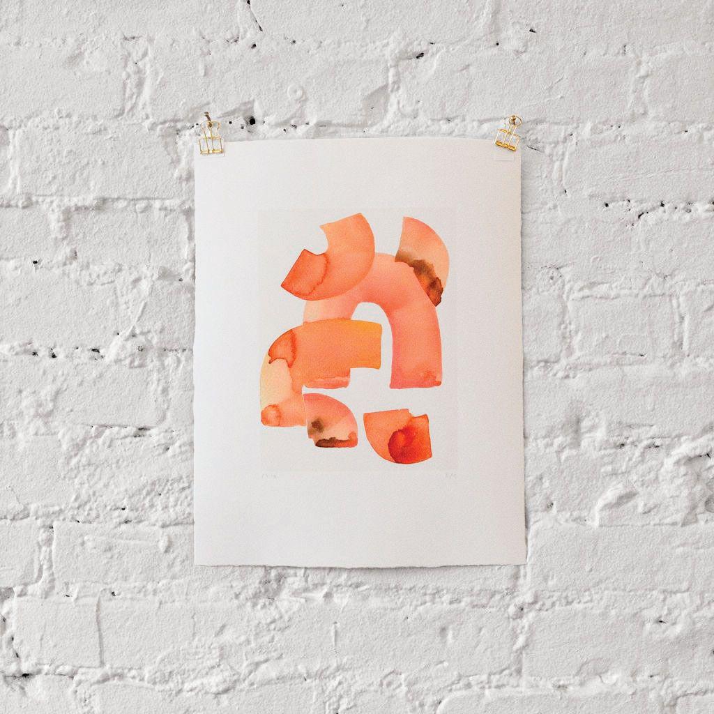 Leanne Shapton's <em>Oranges I</em>