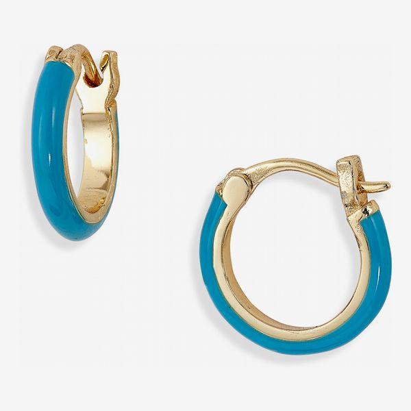 Gorjana Amalfi Huggie Hoop Earrings