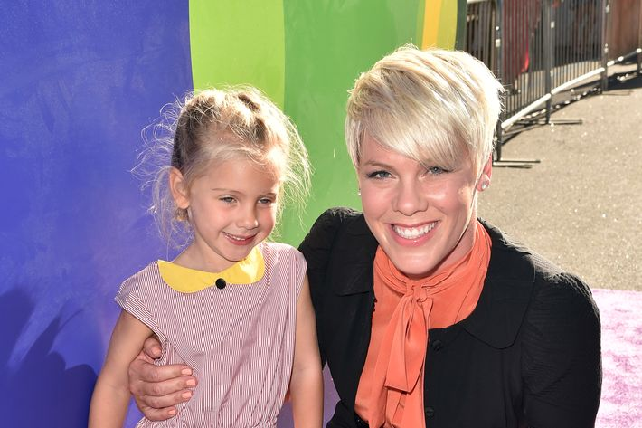 Pink and Willow. Photo: Kevin Winter/Getty Images