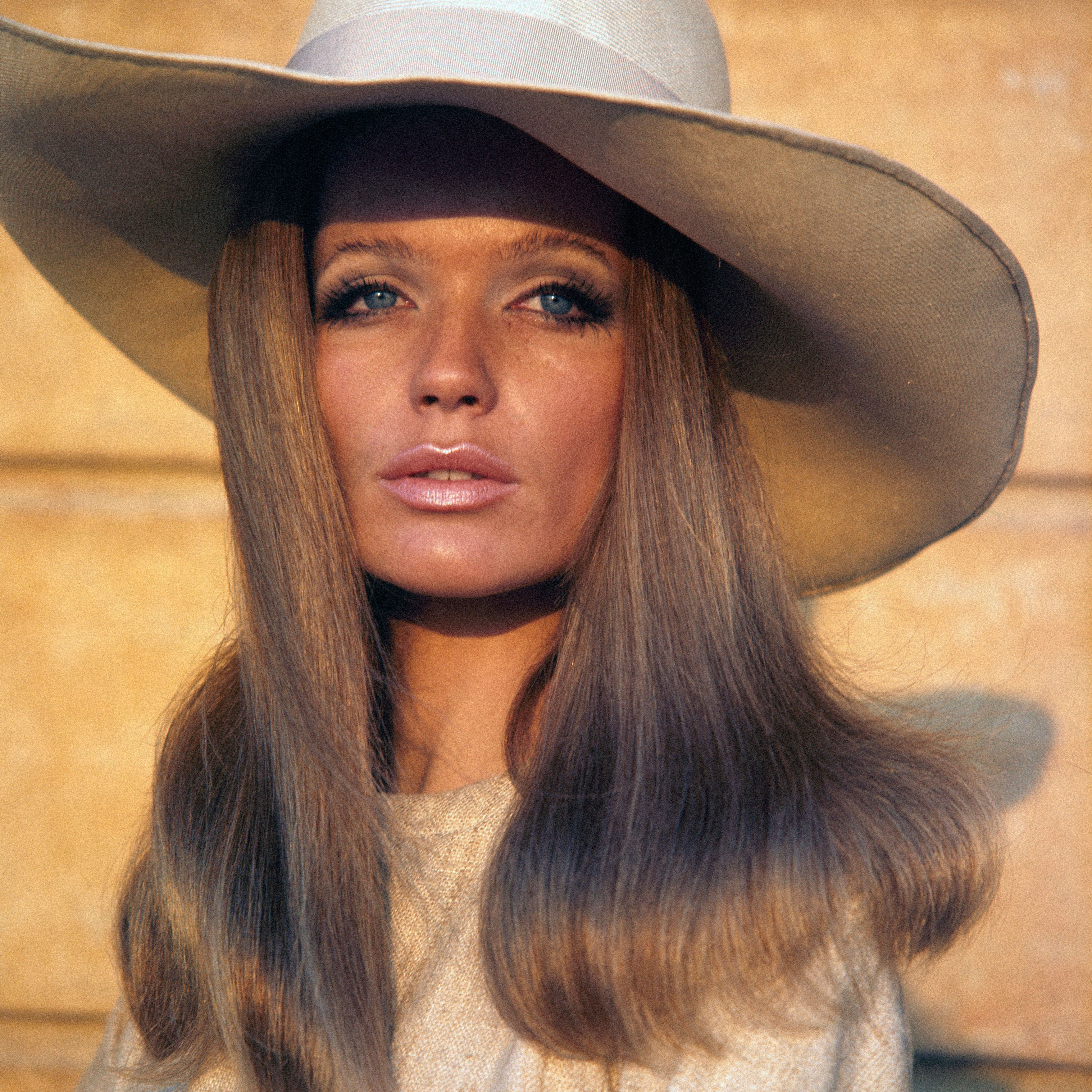 on her birthday shots of 60s model veruschka the cut