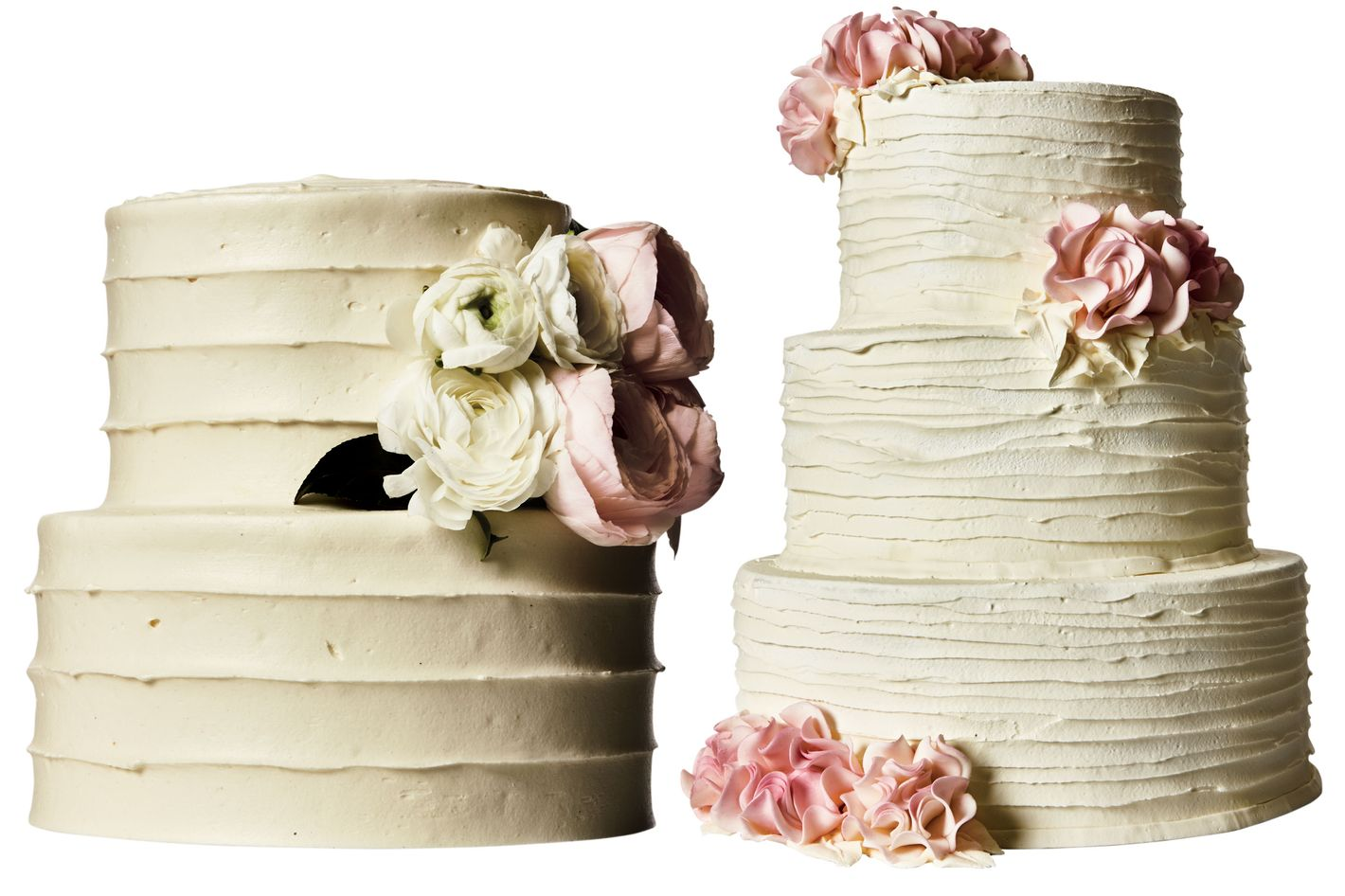 Delicate and Decadent Wedding Cakes