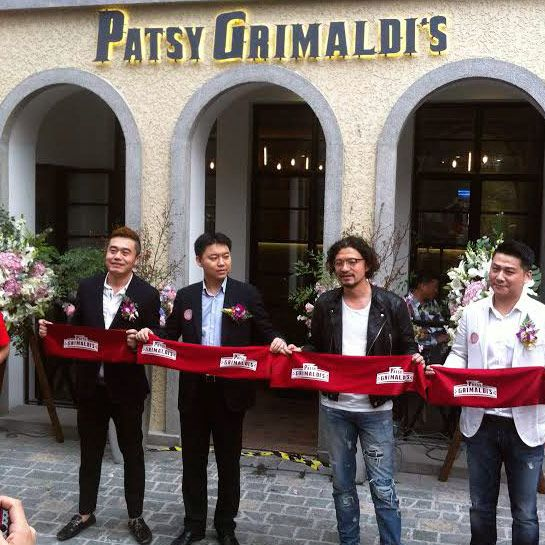 The grand opening, off Shanghai's French Concession.