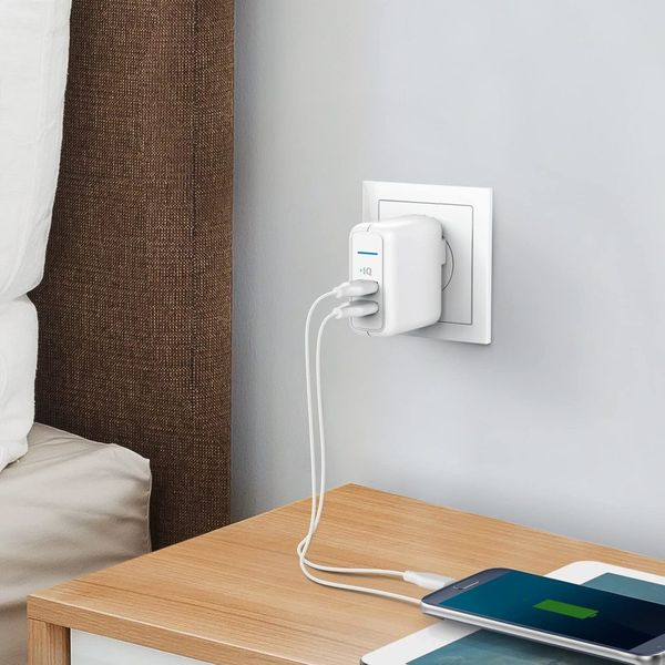 Anker Elite Dual Port 24W Wall Charger, PowerPort 2