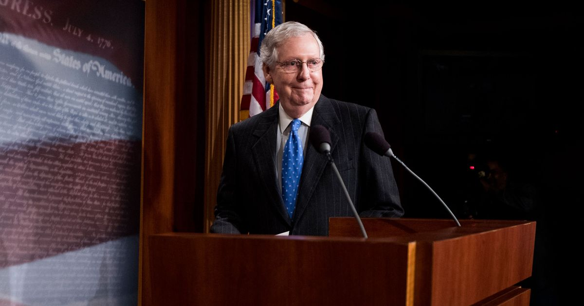 McConnell: The American People Didn't Vote for What They Voted For