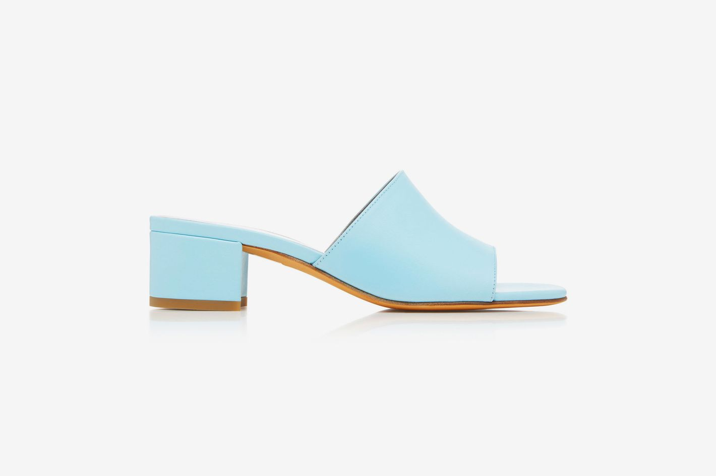 Maryam Nassir Zadeh Sophie Leather Slides