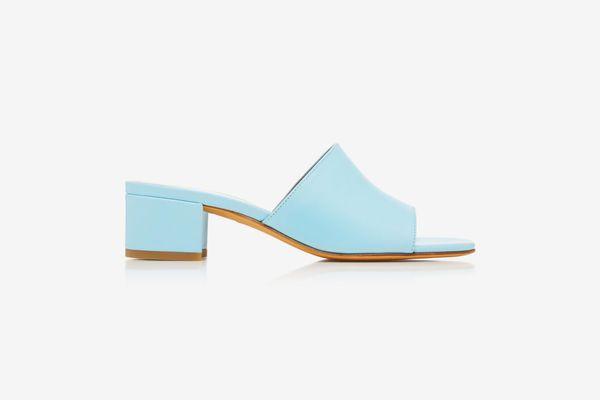 Maryam Nassir Zadeh Sophie Leather Slides