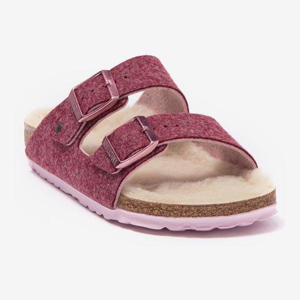 Birkenstock Arizona Wool Slide Sandal