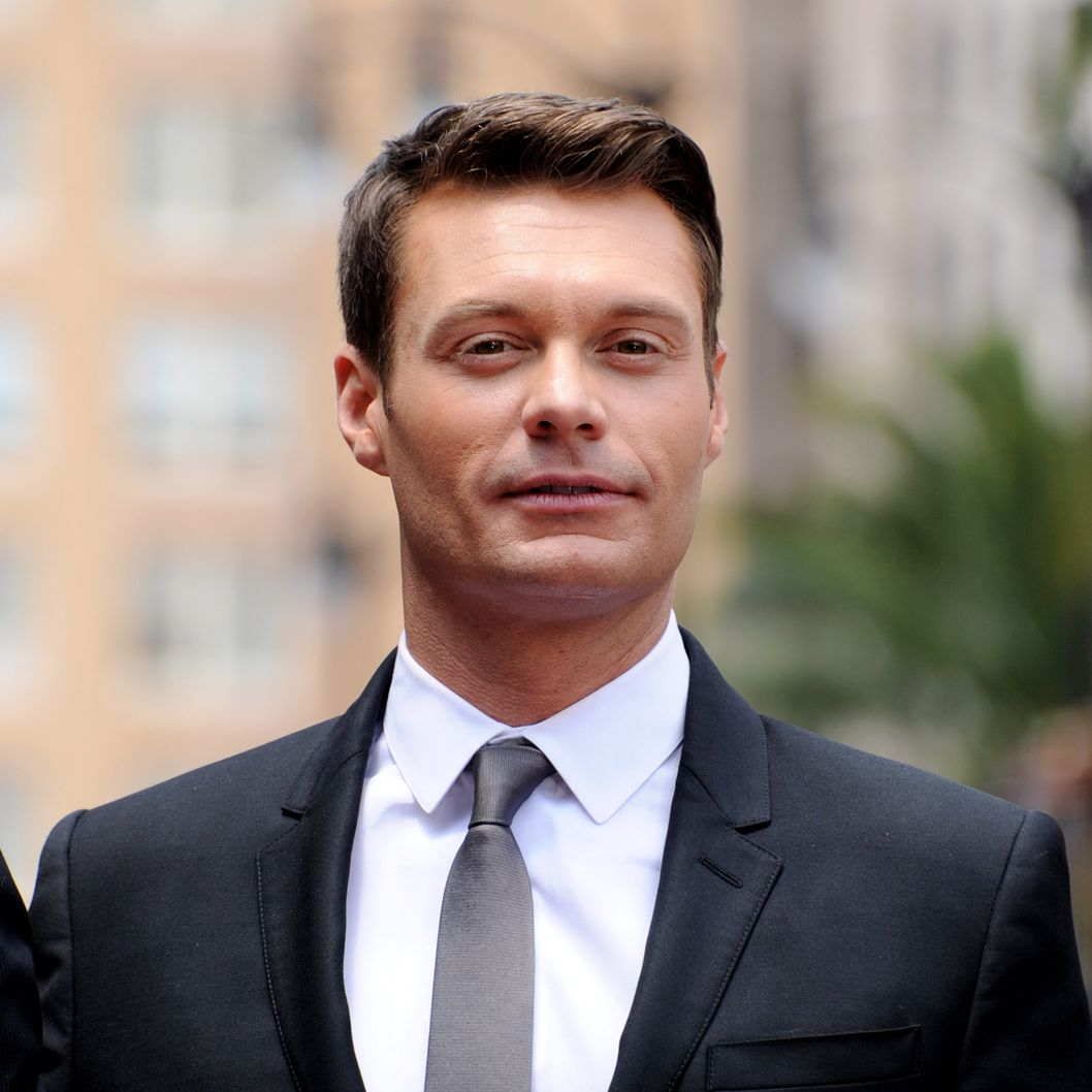 LOS ANGELES, CA - MAY 23:  TV personality Ryan Seacrest poses at Simon Fuller's Hollywood Walk of Fame star presentation ceremony at Hollywood & Vine on May 23, 2011 in Los Angeles, California.  (Photo by Kevin Winter/Getty Images)