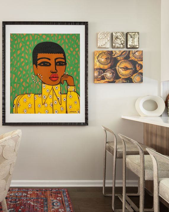 Tour Interior Designer Beth Diana Smith S Eclectic Home The Cut Famous Times