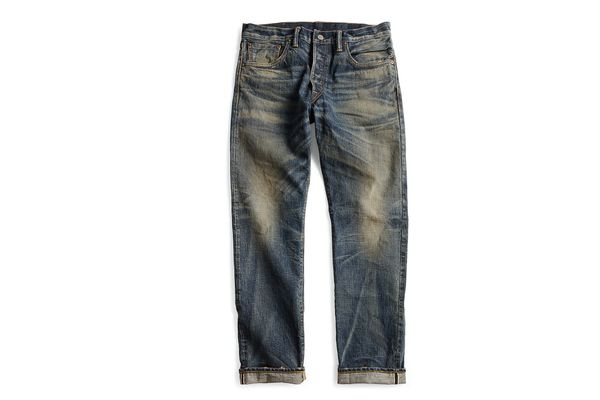 RRL Low Straight Selvedge Jean