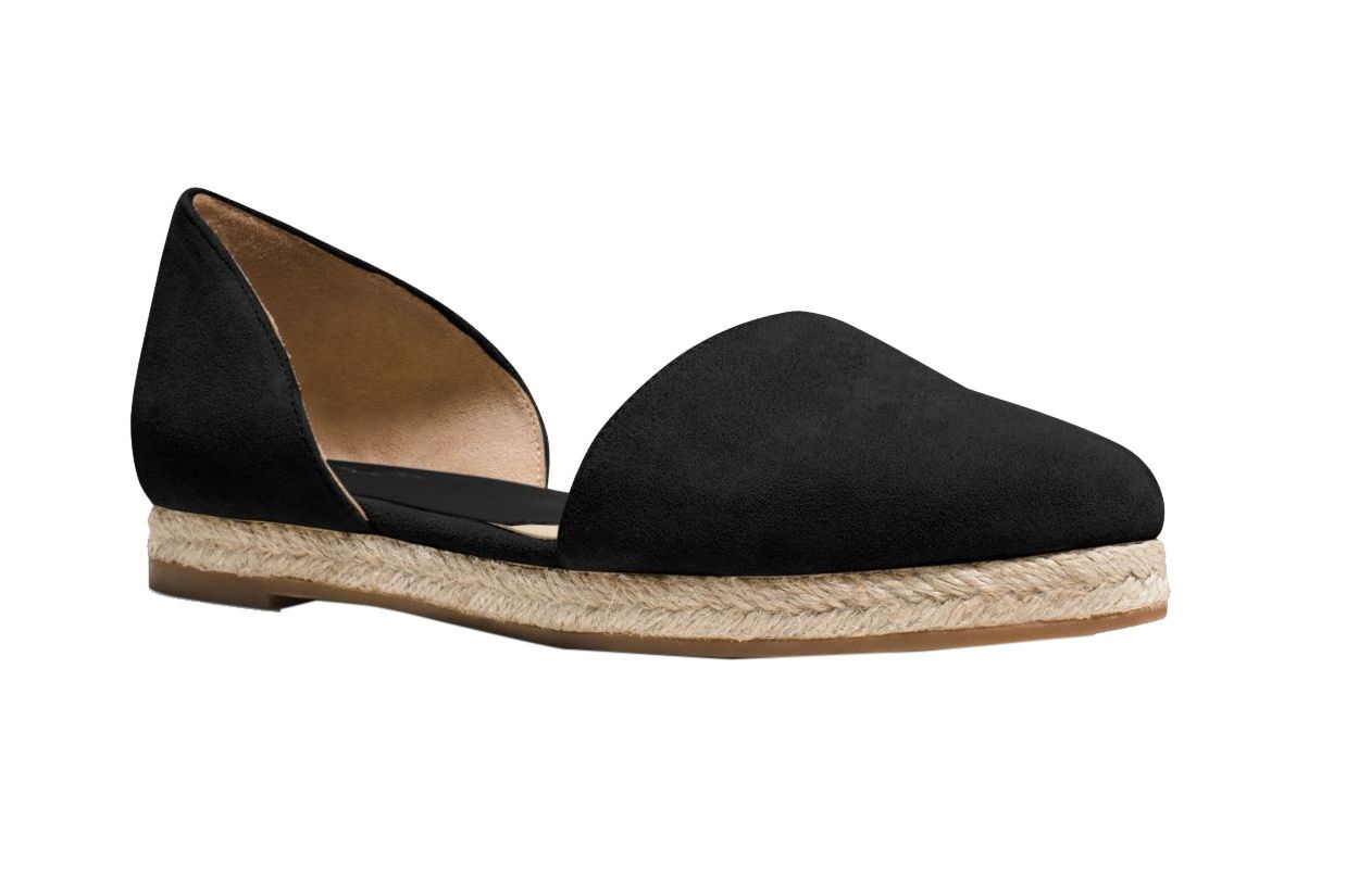 Michael Kors Collection Corey Suede Flat