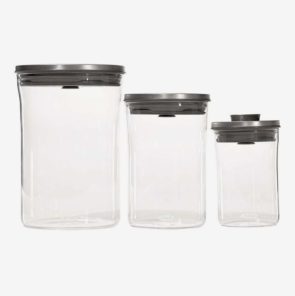 OXO Steel Graduated Pop Canister