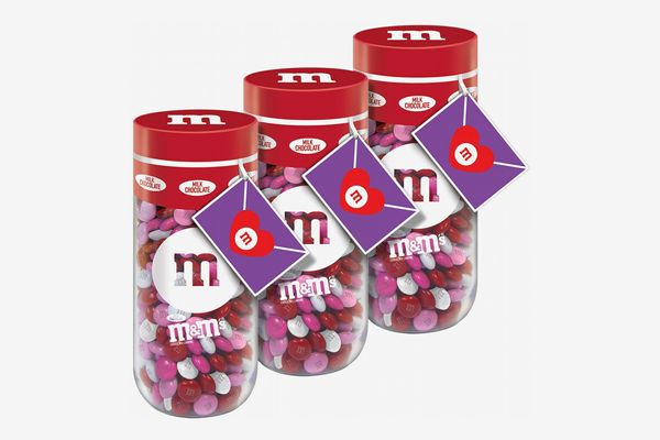 M&M'S Milk Chocolate Valentine's Day Candy Gift, 13-Ounce Jar
