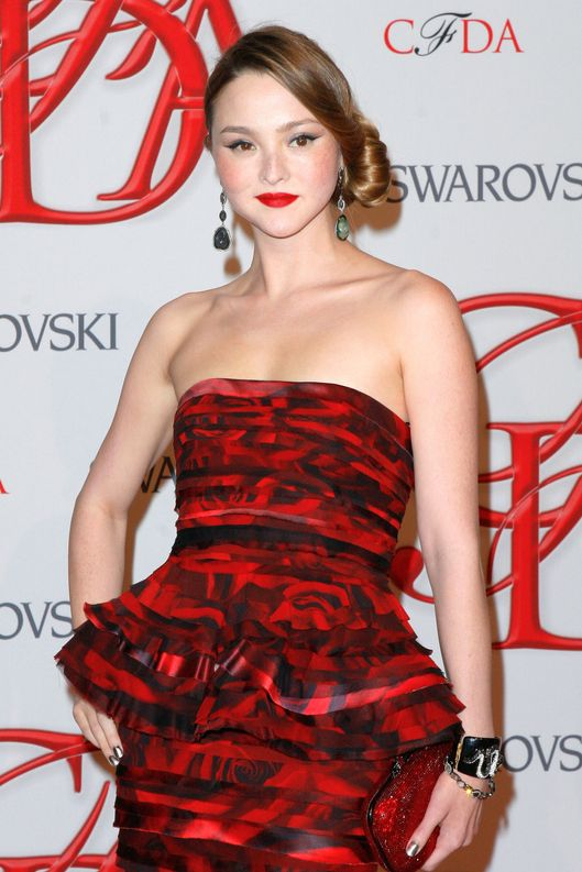 "Fashion Model Devon Aoki attends the 2012 ""CFDA Fashion Awards"" at Alice Tully Hall at Lincoln Center in New York City."