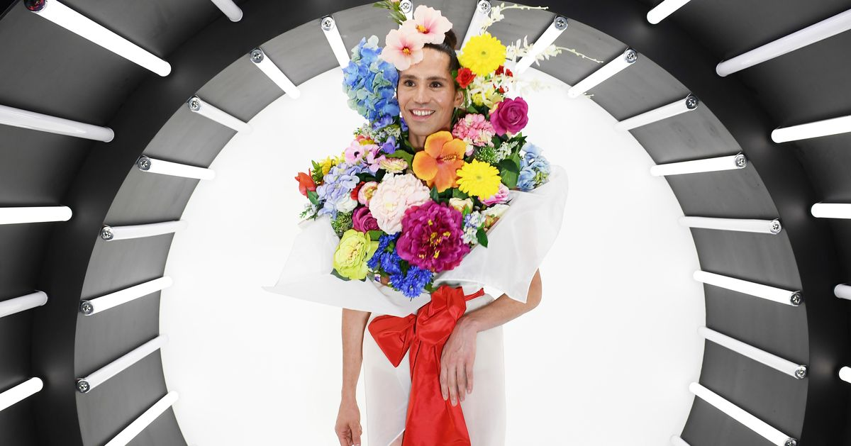 Why Not Dress Like a Bouquet of Flowers?