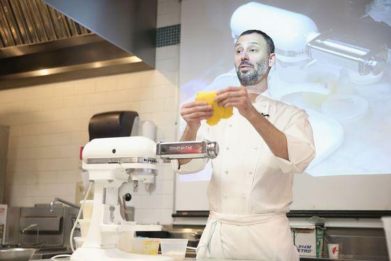 All'onda's Chris Jaeckle, a pasta ace.
