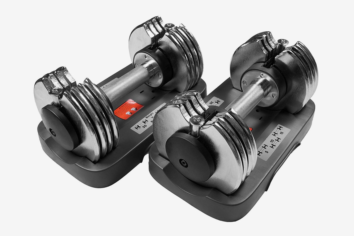 Bayou Fitness Adjustable Dumbbell — 25 lbs.