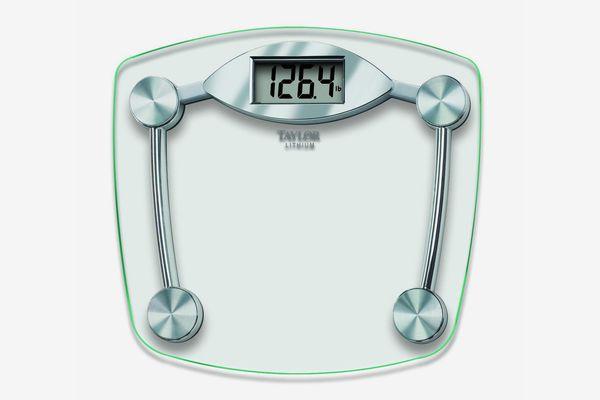 Taylor Glass and Chrome Digital Bathroom Scale