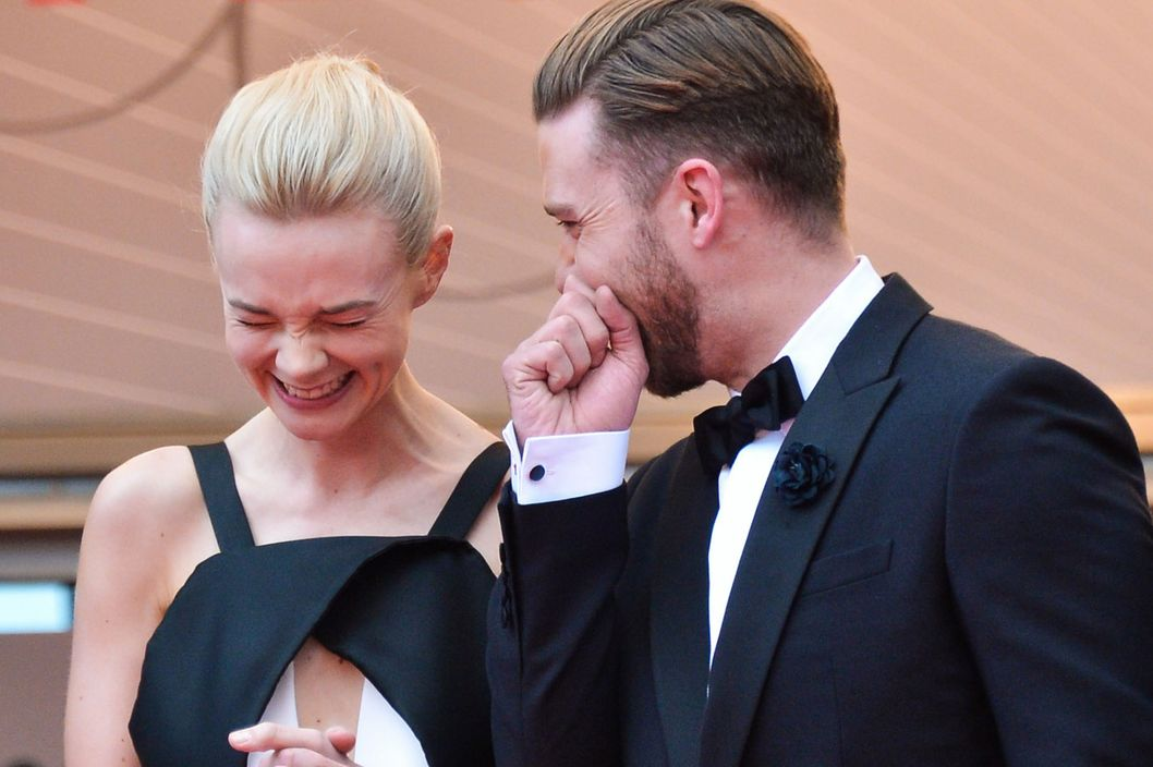 CANNES, FRANCE - MAY 19:  Carey Mulligan and Justin Timberlake attends the Premiere of 'Inside Llewyn Davis' at The 66th Annual Cannes Film Festival on May 19, 2013 in Cannes, France.  (Photo by George Pimentel/WireImage)