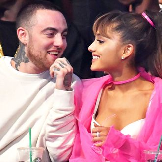 Mac Miller and Ariana Grande.