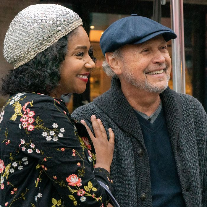 Tiffany Haddish and Billy Crystal in Here Today