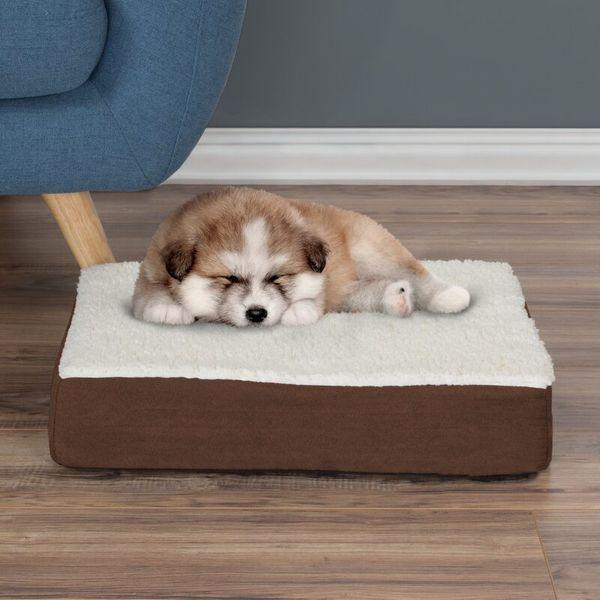 Petmaker Orthopedic Sherpa Memory Foam Dog Mat