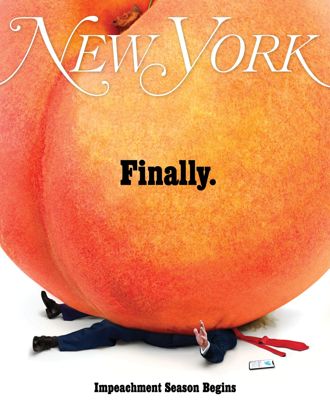 On the Cover of New York Magazine: Impeachment Season Begins